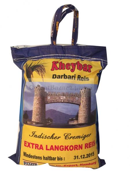 Kheybar Basmati Reis 5 Kg ( Kheybar darbari )