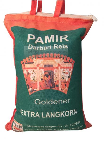 Pamir Darbari aus Indien Langkorn Reis 5 Kg – Bild 1