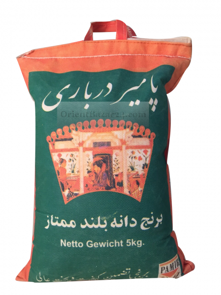 Pamir Darbari aus Indien Langkorn Reis 5 Kg – Bild 2