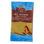 TRS- Hot Madras Curry Pulver in 100 Gramm Verpackung, Gewürzmischung