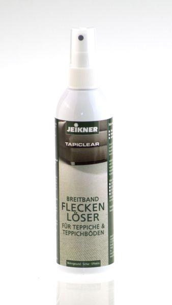 Jeikner- Fleckenlöser Tapiclear 250ml, für alle Teppich und Teppichböden als Sprühflasche