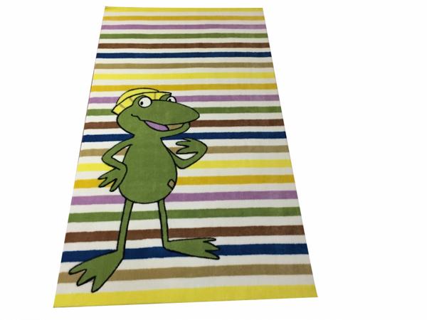 Gustav-Eltern Kinderteppich Quaker redet Multicolor 90x160 cm