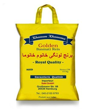Golden Basmatireis Longi 5 Kg Royal Quality aus Indien