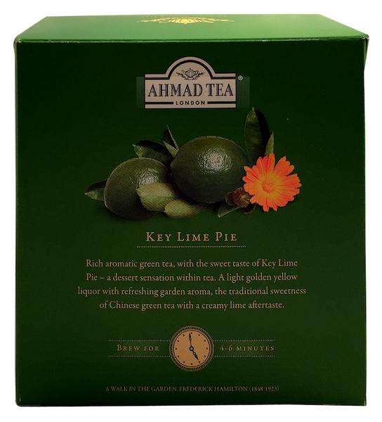 Ahmad Tea Dessert Pyramid Teabags - KEY LIME PIE 15 Pyramiden Tee Beutel – Bild 6