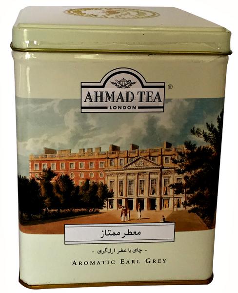 Ahmad Tea- Earl Grey Loser Schwarztee 500 Gramm in Metal-Dose zum Verschenken oder Aufbewahrungsbox  – Bild 1