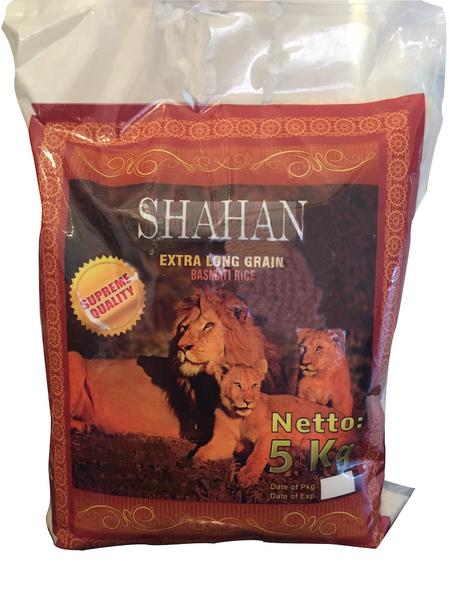 Shahan Extra Long Grain Basmati Reis 5 Kg für Reiskocher und Reiskuchen/ Reiskruste Tadig geeignet – Bild 1