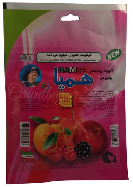 Hampa- Traditionell getrocknete Obst Paste Lavashak 100 Gramm mit Multi- Früchte
