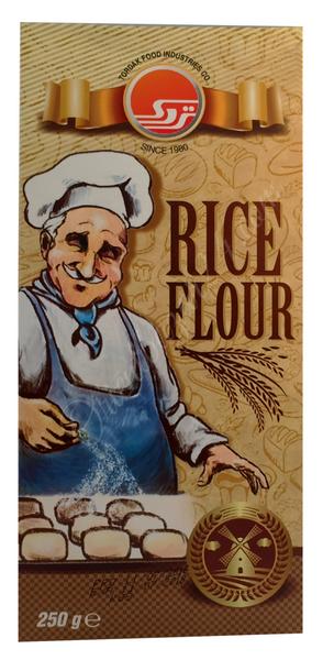 Tordak- Reis Mehl in 250 Gramm Verpackung für Backen und Kochen – Bild 2