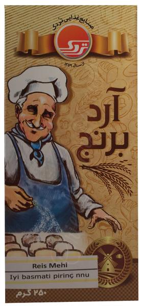 Tordak- Reis Mehl in 250 Gramm Verpackung für Backen und Kochen