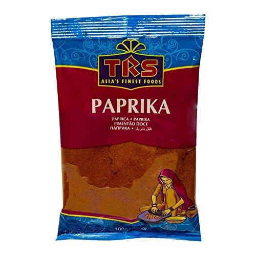 TRS- Paprika Pulver in 100 Gramm Verpackung, Gewürzmischung