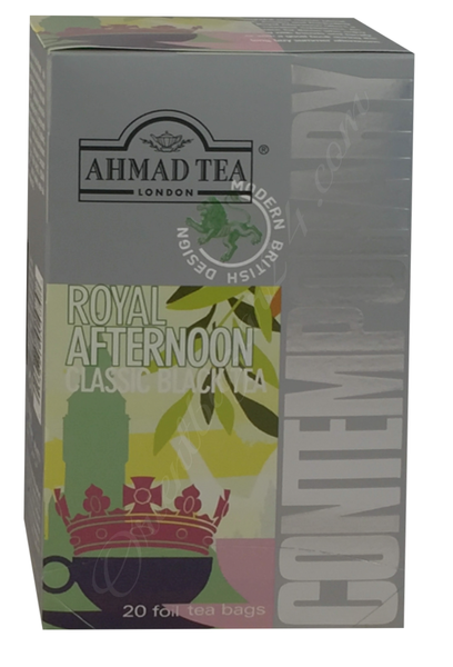 Ahmad Tea- Royal Afternoon Schwarzer Beutel-Tee 20 x á1,8 Gramm