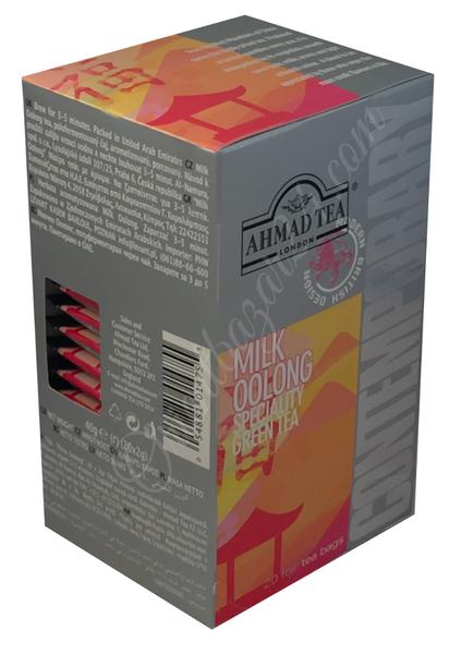 Ahmad Tea- Milk Oolong Grüner Beutel-Tee 20 x á1,8 Gramm  – Bild 5