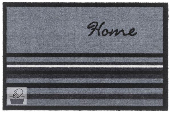 Fussmatte- Motiv Home 60x40cm, Innen-Matte, Sauberlaufmatte, Türmatte