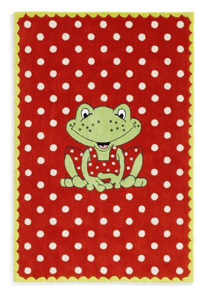 Kinderteppich- Oskar der Frosch