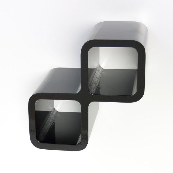 Cubes Regal Weinhalter schwarz
