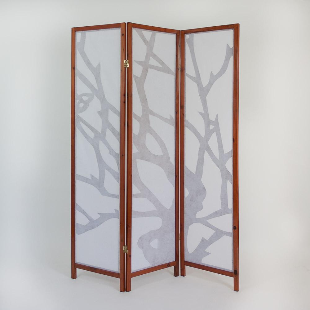 3 fach paravent raumteiler holz trennwand spanische wand. Black Bedroom Furniture Sets. Home Design Ideas
