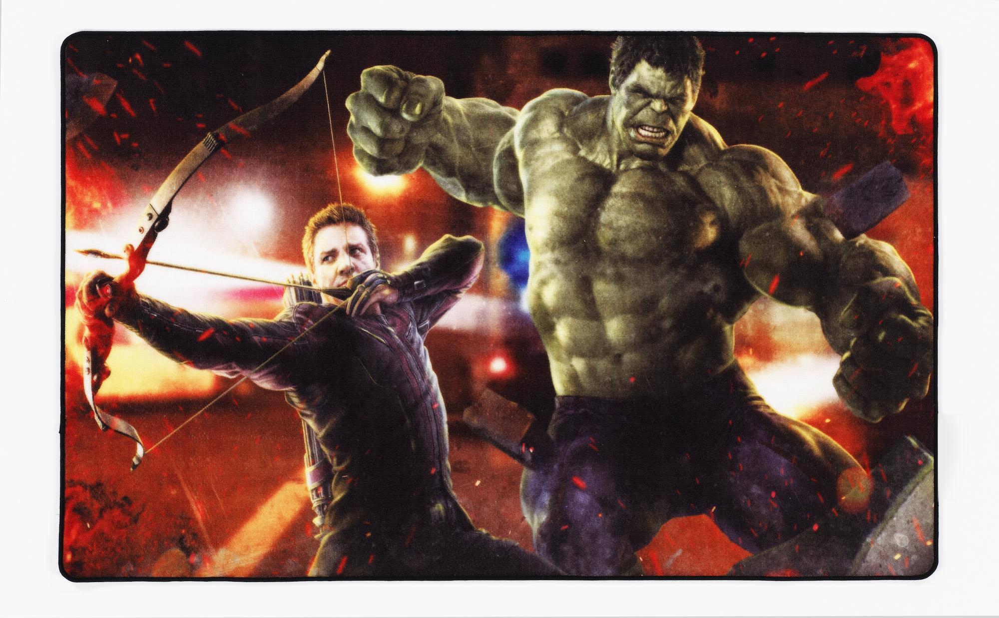 Marvel- Kinderteppich 160 x 100 cm Avengers \