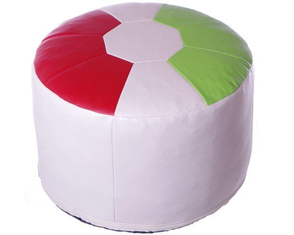 Fußball-Sitzkissen Kunstleder Italien Ø 50/34 cm