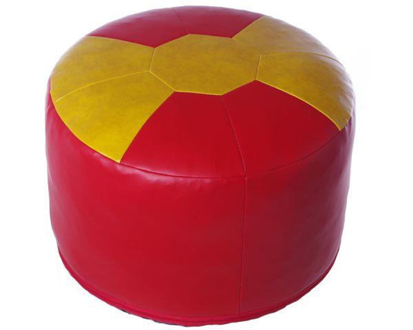 Fußball-Sitzkissen Kunstleder Spanien Ø 50/34 cm
