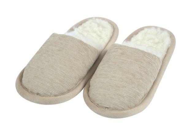 Wellness-Pantoffel Norma beige 42/43