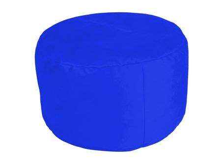Pouf Alka royal-blue Ø47/34 cm
