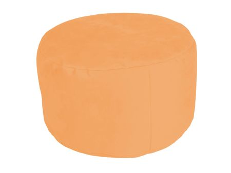 Pouf Alka light-orange Ø47/34 cm