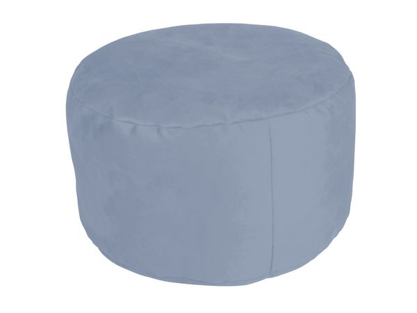 Pouf Alka light-blue Ø47/34 cm
