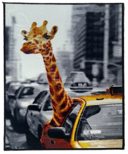 Kinderteppich- NEW YORK Safari 80 x 120 cm
