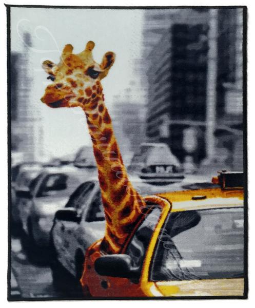 Kinderteppich- NEW YORK Safari 80 x 120 cm