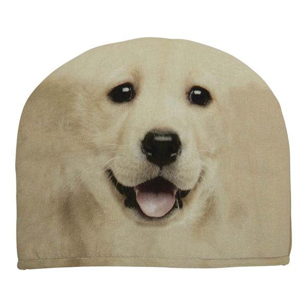 Kannen wärmer- Labrador Blond 27x33 cm für Teewärmer, wärmer aus Stoff 100% Baumwolle