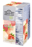 Ahmad Tea- Strawberry Cream Frucht Schwarzer Beutel-Tee 20 x á1,8 Gramm  001