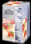 Ahmad Tea- Strawberry Cream Frucht Schwarzer Beutel-Tee 20 x á1,8 Gramm  001
