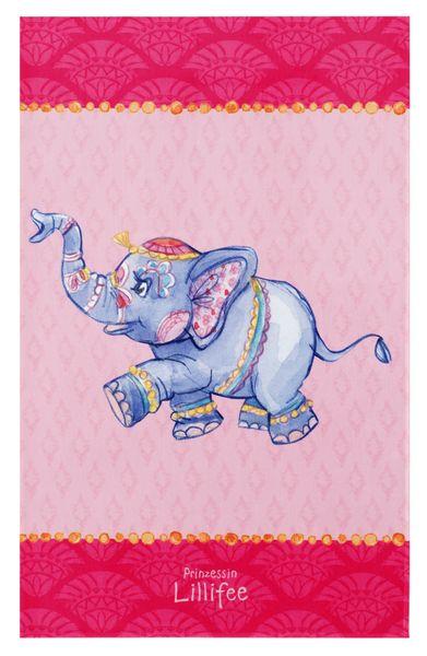 Kinderteppich- Die Prinzessin Lillifee Elefant, Zwei Größen Mädchen- Zimmer, Spielteppich
