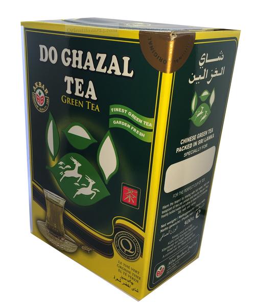 Schwarzer und Grüner Tee als Lose und Beutel, Schwarztee, Grüntee, Green tea, Black tea – Bild 4