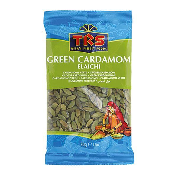 TRS- Grüner Kardamom 50 Gramm Green Cardamom , Gewürz