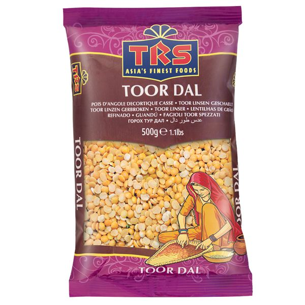 TRS- geschälte Linsen 500 Gramm, getrocknete Hülsenfrüchte
