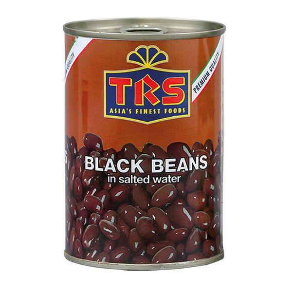 TRS- Schwarze Bohnen in Salzwasser 400 Gramm, abgetropft 240 Gramm, Konserve
