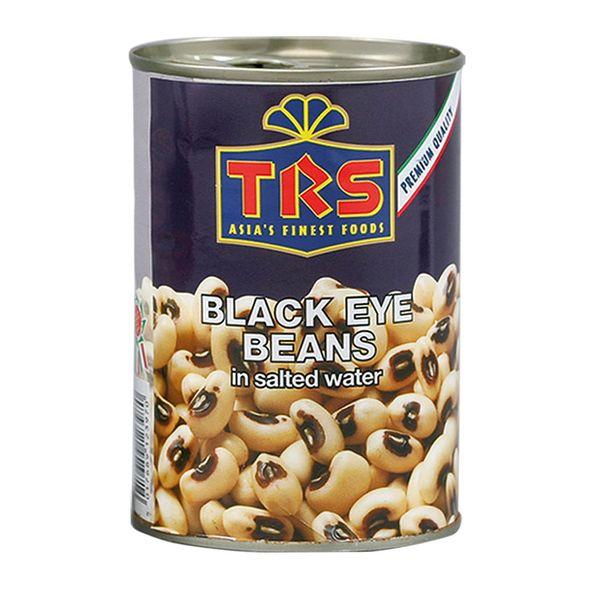 TRS- Schwarz Augen Bohnen in Salzwasser 400 Gramm, abgetropft 240 Gramm, Konserve