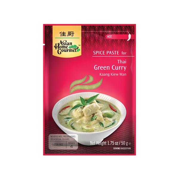 Spice Paste- Thailändische Thai Grüne Curry 50 Gramm soßen Würzpaste