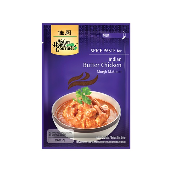 Spice Paste- Indian Butter Chicken 50 Gramm soßen Würzpaste