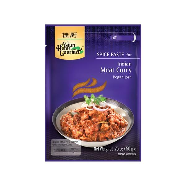 Spice Paste- Indisches Fleisch- Curry Meat Curry 50 Gramm Hot soße Würzpaste