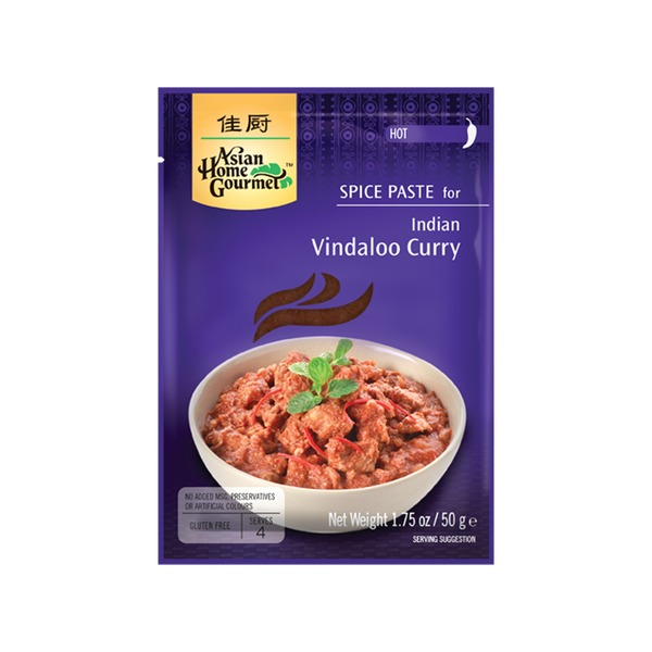 Spice Paste- Indisches Vindaloo Curry 50 Gramm Hot soße Würzpaste