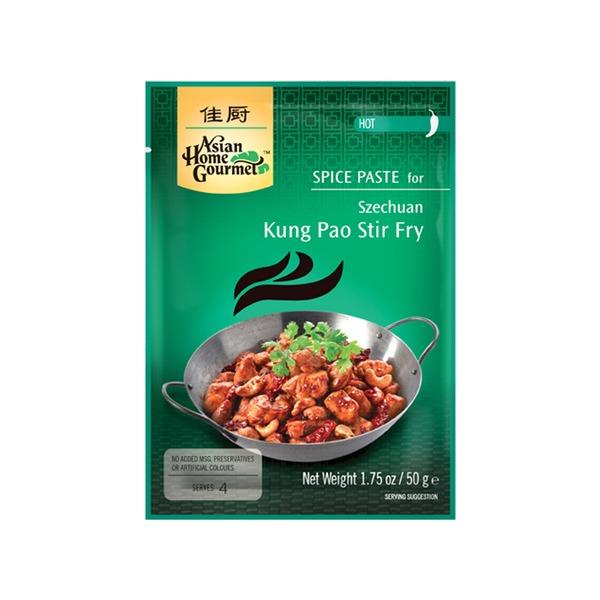 Spice Paste- Szechuan Kung Pao Stir Fry 50 Gramm Hot soße Würzpaste