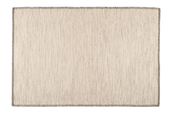 Handwebteppich- Oslo aus Wolle in Vier Farben und Größen Flachgewebt