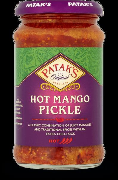 Pataks- Pikantes Mango Pickle 283 Gramm Paste Soße