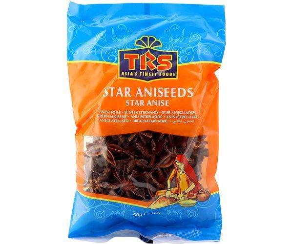 TRS echter ganzer Steranis 50 Gramm Star Aniseeds Anis