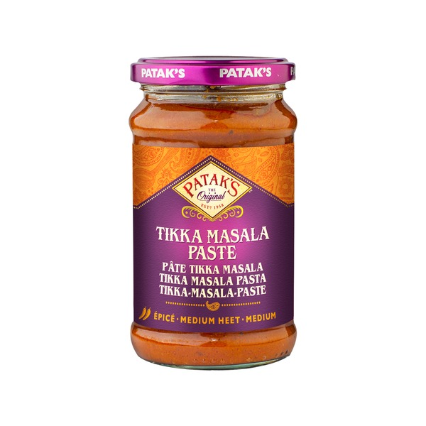 Pataks- Tikka Masala Paste 283 Gramm Paste Soße