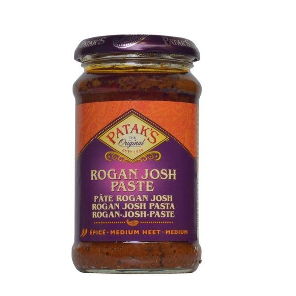 Pataks- Rogan Josh Paste 283 Gramm Paste Soße Mild