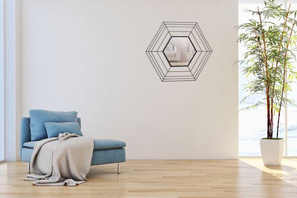 Wandspiegel Romeo 110 Schwarz