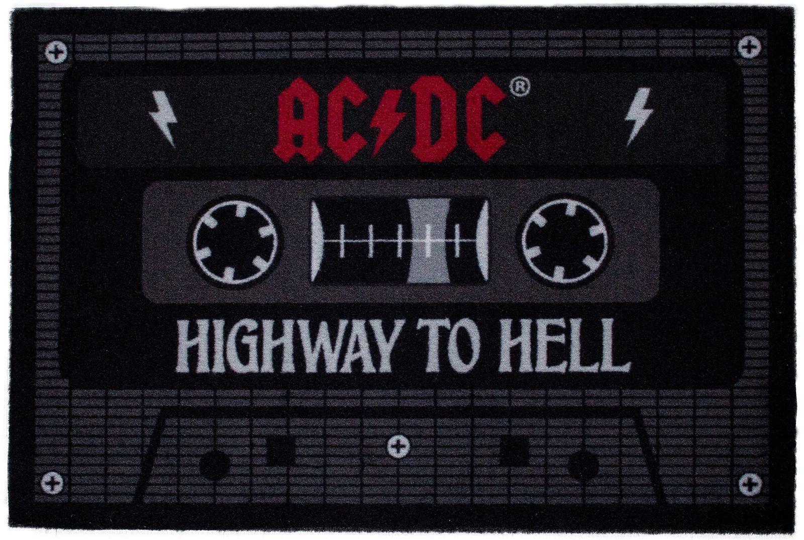 AC/DC  - Tape Kassetten 60 x 40 cm